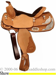 14 1/2inch Billy Cook Youth Show Saddle