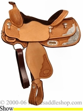 """14.5"""" Billy Cook Youth Show Saddle 3298"""