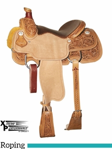 "** SALE ** 14"" to 16"" Circle Y Xtreme Performance Tierney All-Around Roper 1252 w/Free Pad"