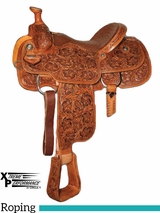 "14"" to 17"" Circle Y XP Fairview Roper Saddle 2768 w/Free Pad"