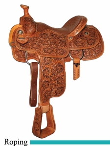 "** SALE **14"" to 17"" Circle Y XP Fairview Roper Saddle 2768 *free gift*"