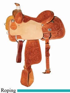 "14"" to 16"" Reinsman Calf Roper Saddle 4301"