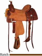 "15"" to 17"" Reinsman Ranch Roper Saddle 4604"