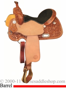 "** SALE **13"" to 16"" Circle Y XP Belle Barrel Racer 2151 *free gift*"