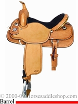 "** SALE **14"" to 16"" Meleta Brown Freedom Series Barrel Racer 9230"