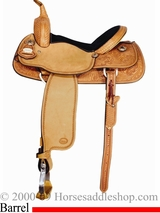 "14"" to 15"" Meleta Brown Freedom Series Barrel Racer 9231"