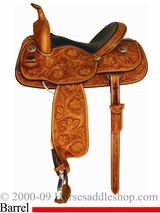 "14"" to 16"" Meleta Brown Freedom Series Barrel Racer 9232"