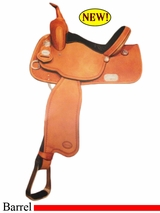 "14"" to 15"" Crates Balanced Barrel Saddle 2420 Equi-Fit Tree"
