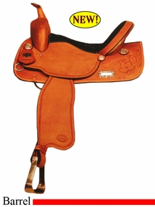 "14"" to 15"" Crates Balanced Barrel Saddle 2422 Equi-Fit Tree"