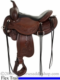 "** SALE **14"" to 17"" Circle Y Julie Goodnight Wind River Flex2 Trail Saddle 1750 *free pad or cash discount*"
