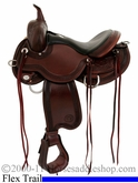 "14"" 15"" 15.5"" 16"" 17"" Circle Y Julie Goodnight Teton Trail Flex2 Saddle 1760 *FREE MATCHING CIRCLE Y SADDLE PAD OR CASH DISCOUNT!*"