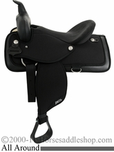 "14"" to 17"" Abetta All Around Saddle, Reg or Wide, 20515"