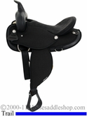 "14"" 15"" 16"" 17"" Abetta Original Nylon Flex Trail Saddle, Reg or Wide, be20501F be20501FW"