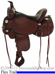 "** SALE **14"" to 17"" Circle Y Alpine Flex2 Trail Saddle 2377 *free gift*"