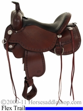"** SALE **14"" to 17"" Circle Y Alpine Flex2 Trail Saddle 2377 *free pad or cash discount*"