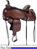 "14"" 15"" 16"" 17"" Circle Y Little Horn Flex2 Trail Saddle Medium or Wide Tree 1668 *FREE MATCHING CIRCLE Y SADDLE PAD OR CASH DISCOUNT!*"