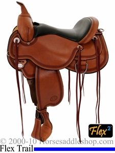 "** SALE **14"" to 17"" Circle Y Pioneer Flex2 Trail Saddle 1665 *free gift*"