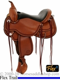 "14"" 15"" 16"" 17"" Circle Y Pioneer Flex2 Trail Saddle 1665 Reg, Wide, or Extra Wide *FREE MATCHING CIRCLE Y SADDLE PAD OR CASH DISCOUNT!*"