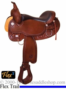 "** SALE **14"" to 17"" Circle Y Cottonwood Flex2 Trail Saddle 2361 *free pad or cash discount*"