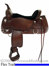 "14"" to 18"" Circle Y Cypress Flex2 Trail Saddle 2360 *free pad or cash discount*"