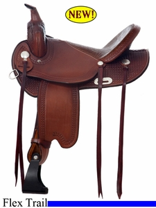 "14"" to 17"" Dakota Lightweight Flex Tree Trail Saddle 352"