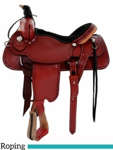 "14"" to 17"" Dakota Roping Saddle 554"