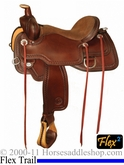 "** SALE **14"" to 17"" Circle Y Eagle Creek Flex2 Trail Saddle 1658 *free gift*"