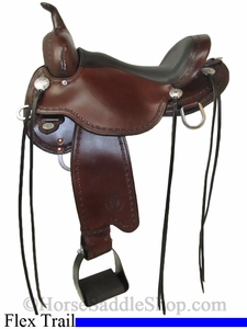 "** SALE **14"" to 17"" Circle Y Salt River Flex2 Trail Saddle 1667 *free gift*"