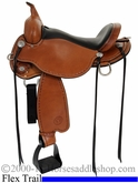 "14"" 15"" 16"" 17"" Salt River Flex2 Circle Y Trail Saddle 1667 *CIRCLE Y SADDLE PAD FOR 1/2 PRICE OR CASH DISCOUNT!*"