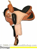 "** SALE **14"" to 17"" Circle Y Pam Grace Flex2 Western Dressage 1850 *free gift*"
