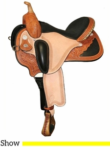 "14"" to 17"" Circle Y Pam Grace Flex2 Western Dressage 1850 w/Free Pad"