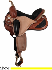 "** SALE ** 14"" to 17"" Circle Y Pam Grace Flex2 Western Dressage 1850 w/Free Pad"