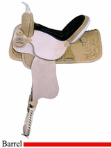"14"" 15"" 16"" American Saddlery Best Deal Racer Barrel Racing Saddle am840"
