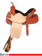 "14"" to 16"" Big Horn Barrel Saddle 1540 1536 1538"