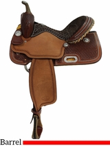 "** SALE ** 14"" to 16"" Billy Cook Barrel Racing Saddle 1530"