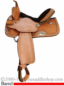 Billy Cook Barrel Racing Saddle #10-1530
