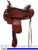 "14"" to 16"" Crates Light Ladies Trail Saddle 2120 Equi-Fit Tree"