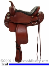 "14"" to 17"" Crates Light Ladies Trail Saddle 2120 Equi-Fit Tree"
