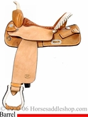 "14"" 15"" 16"" Genuine Billy Cook Saddle, Barrel Saddle 1524"