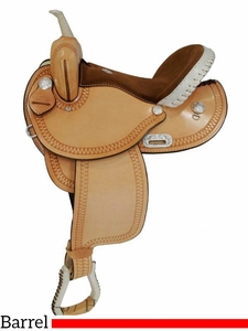 "** SALE ** 14"" to 16"" Premium Dakota Barrel Saddle 342"