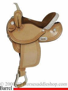 "14"" to 16"" Premium Dakota Barrel Saddle 342"
