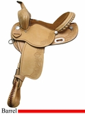 "** SALE **14"" 15"" 16"" Rocking R Barrel Saddle 334"