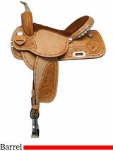 "14"" 15"" 16"" South Bend Saddle Co Barrel Racer 276"