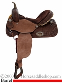 "** SALE **14"" 15"" Alamo Chocolate Barrel Racer or Pleasure Saddle 1274-3M 1275-3M"