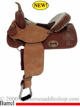 "14"", 15"" Alamo Gator Cross Cutout Barrel Racer 1275-gb"