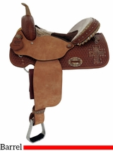 "** SALE ** 14"" 15"" Alamo Gator Cross Cutout Barrel Racer 1275-gb"