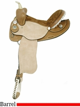 "14"" 15"" American Saddlery Ekto Five Barrel Racing Saddle 818 819"