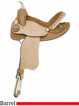 "14"" 15"" American Saddlery Ekto Two Barrel Racing Saddle 812 813"