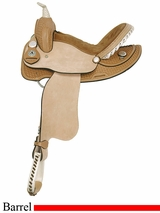 "14"" 15"" American Saddlery Ekto Two Barrel Racing Saddle am812-813"