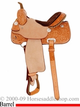 "14"" 15"" Billy Cook Classic Barrel Racing Saddle 2031"